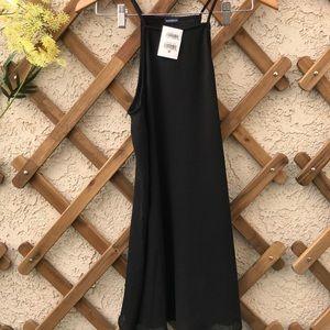BRANDY MELVILLE FLOWY BLACK DRESS